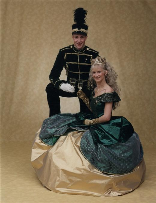 Claudia II. und Stefan I.